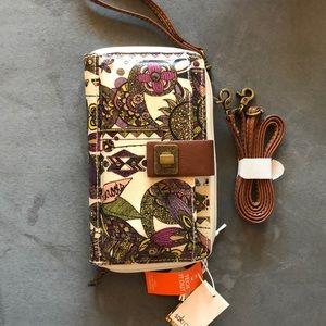 Wallet/crossbody/Wristlet